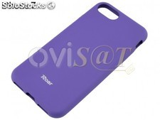 Funda de TPU en color violeta / morado, para Apple iPhone 7, iPhone 8, en