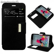 Funda Flip Cover Wiko U Feel Lite Liso