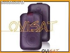 Funda Forcell Deko violeta para Apple iPhone 5, iPhone 5s