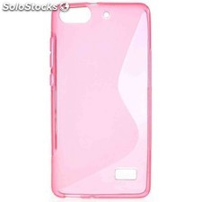 Funda gel huawei g play mini rosa