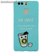 Funda gel huawei p9 mw un cafe
