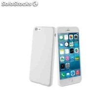 Funda gel iphone 6 plus blanco