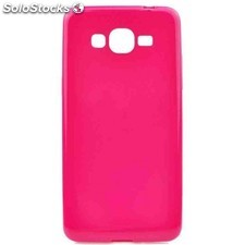 Funda gel samsung grand prime jelly flash rosa