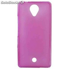 Funda gel wiko u feel / u feel lite rosa