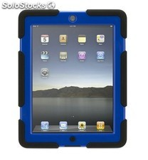 Funda Griffin Survivor negra-azul para iPad 2 y new iPad 3 y 4
