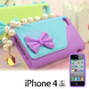 Funda iPhone 4/4S Bolso con Perlas H3525132