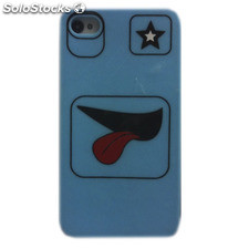 Funda iPhone 4/4S Faces