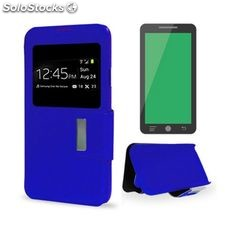 Funda iPhone 5/5S/se Ref. 123457 pu Azul