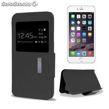 Funda iPhone 6 Plus Ref. 108140 PU Negro