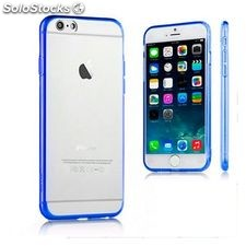 Funda iPhone 6 Plus Ref. 110075 TPU Crystal Azul