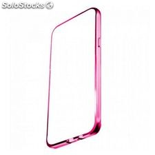 Funda iPhone 6 Plus Ref. 195898 TPU Metal Rosa