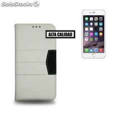 Funda iPhone 6 Plus Ref. Elite 110204 PU Blanco