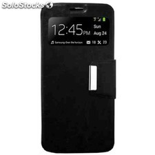 Funda libro ventana iphone 5c negra