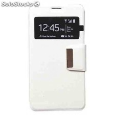 Funda libro ventana iphone 6 plus blanca