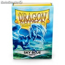 Funda Mate Dragon Shield Sky Blue (100)