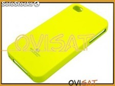 Funda Mercury Goospery Jelly Case amarilla para Apple iPhone 4, 4S