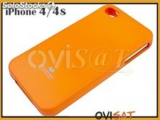 Funda Mercury Goospery Jelly Case naranja para Apple iPhone 4, 4S