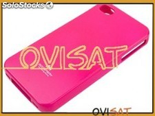 Funda Mercury Goospery Jelly Case rosa para Apple iPhone 4, 4S