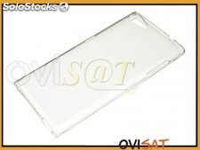 Funda minigel transparente para Wiko Highway Star