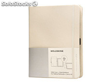 Funda moleskine para ipad air color beige