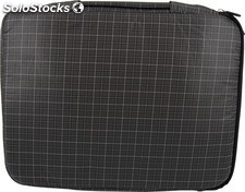 "Funda Mooster asa y bolsillo Nordik netbook PC portatil / tablet hasta 12"" negro"