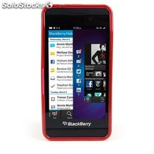 Funda Mooster Blackberry Z10 roja tpu
