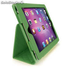 Funda Mooster ipad2 case piel, verde