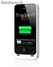 Funda Mophie Juice pack Air blanca para iPhone 4/4s con batería