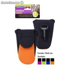 Funda movil neopreno con colgador colores surtidos, futachi