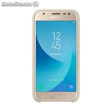 Funda movil samsung J3 2017 rigida dorado PGK02-A0016763