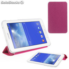 Funda multiposicion Samsung Galaxy tab 3 7.0 T110/ T111color rosa