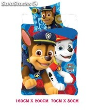 Funda nordica Disney Paw Patrol ,Thomas,El Bombero,Fireman,Little Pony