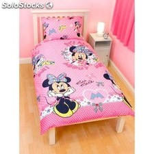 Funda nordica minnie disney para cama de 90 cm