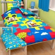 Funda nordica reversible mickey mouse cama 90 cm