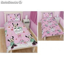 Funda Nordica Reversible Minnie Disney 135x200 cm.