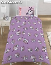 Funda nordica unicornio reversible