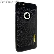 Funda para Móvil Ref. 192408 iPhone 6 Plus TPU Glitter Negro