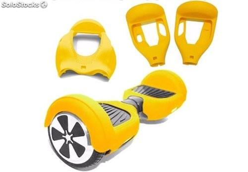 Funda patinete eléctrico Smart balance Scooter 6.5' amarillo