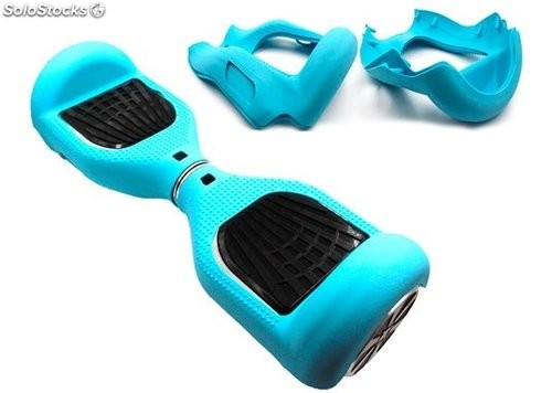 Funda patinete eléctrico Smart balance Scooter 6.5' azul Tiffany