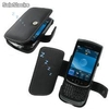 Funda PDair Cuero BlackBerry Torch 9800 - Book Type (Black)