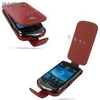 Funda PDair Cuero BlackBerry Torch 9800 - Flip Type (Red)