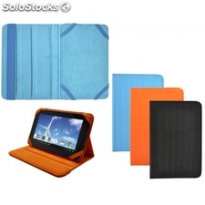 "Funda Piel Tablet 7"" Azul Sunstech"