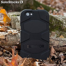 Funda protectora Griffin Survivor iPhone 7 negra