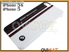 Funda rígida BMW blanca para Apple iPhone 5, 5S