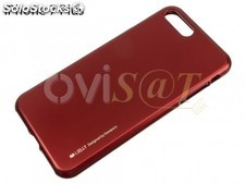 Funda roja Goospery de TPU, sin hueco para la manzana, para Apple iPhone 7 Plus,