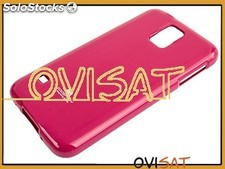 Funda rosa Mercury Jelly Case para Samsung Galaxy S5, G900F