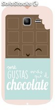 Funda Samsung Galaxy Trend Lite - Chocolate