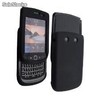 Funda silicona BlackBerry 9800 Torch - Color Negro