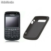 Funda Silicona BlackBerry Original 9700 9780 - Negra.