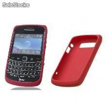 Funda Silicona BlackBerry Original 9700 9780 - Roja